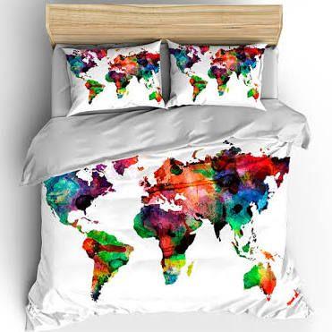 watercolor bedspread - Google Search