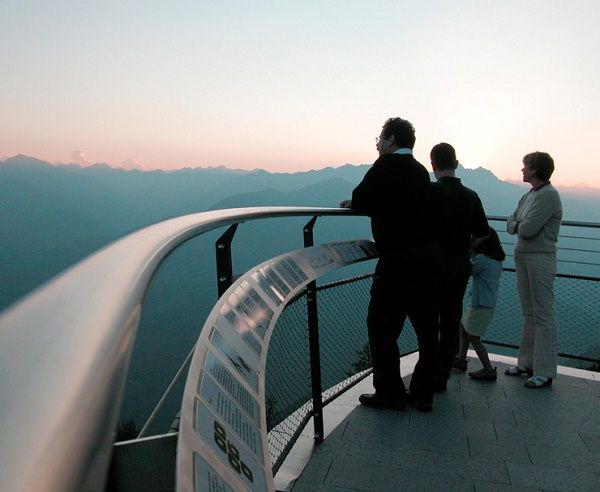 Switzerland-Breathtaking viewing platforms around the world