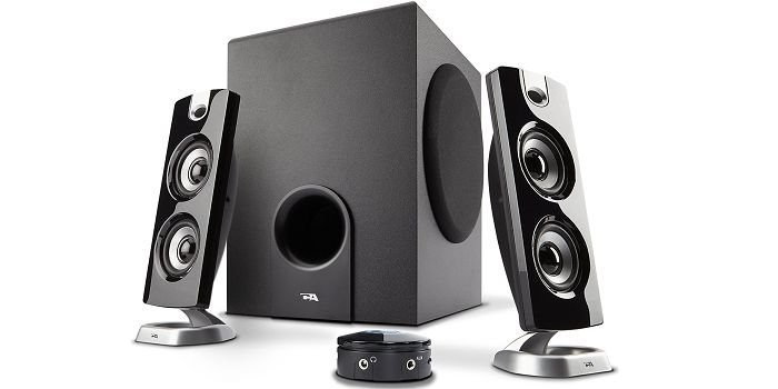Cyber Acoustics CA-3602a - #1 Top Rated Best Computer Speakers Under $50