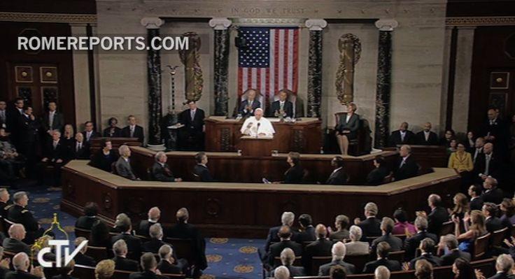 24 de septiembre, 2015. El presidente de la Cámara de Representantes, John Boehner, se emocionó durante el discurso.