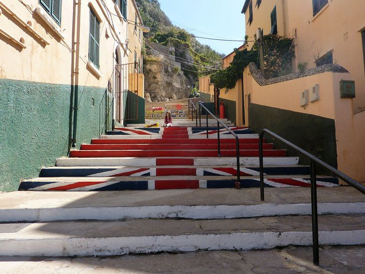 union jack stairs