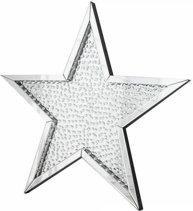 Zrkadlo STAR WOLK 95 cm - strieborná