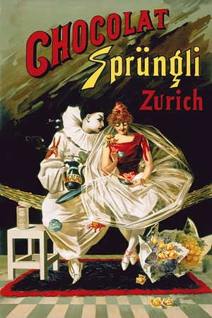 Chocolate Sprungli Zurich