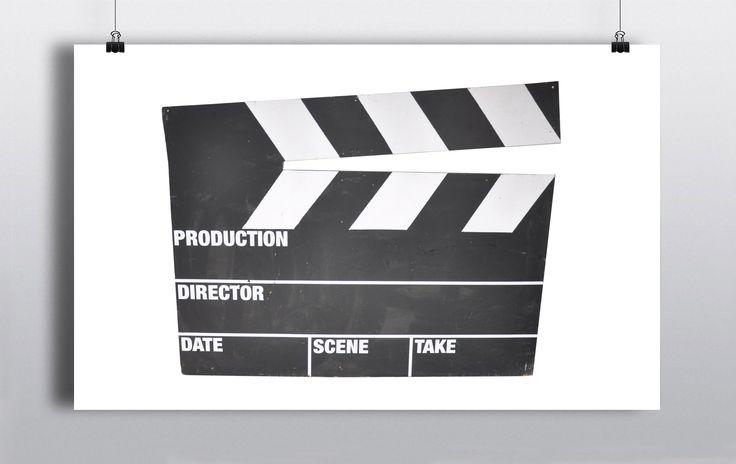 Oversized Directors Clapperboard Prop. Stationary prop measures 150cm Width & 116cm Height. http://www.prophouse.ie/portfolio/clapper-board-prop/