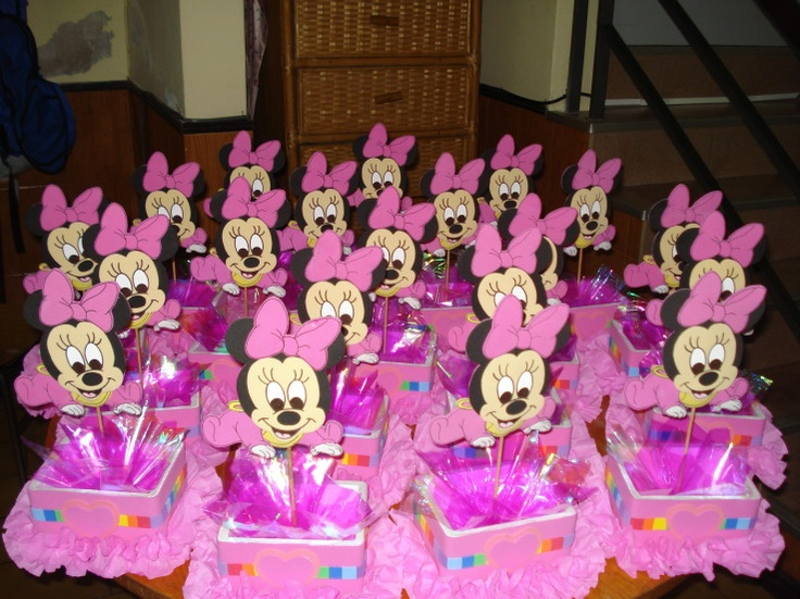 Baby Minnie Mouse Party Ideas | Minnie Mouse Baby - FIESTAIDEAS.com