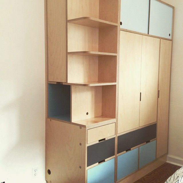 Diy Plywood Kitchen Cabinet Doors: 18 Best Images About KERF Bookcases And Book Shelves On