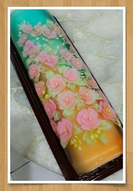 Puding art roll