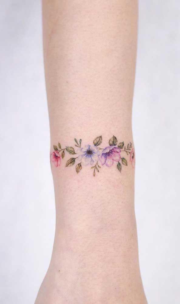 Tatuagem aquarela: 60 inspirações, significados e desenhos | Tatuagens aquarela, Tatuagem colorida, Tatuagem