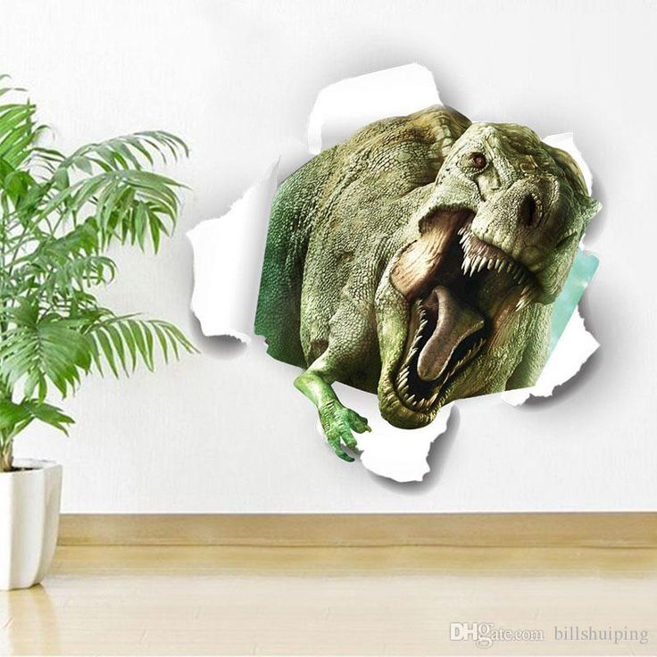 Best Jacksons Room Images On Pinterest Jurassic Park Wall - 3d dinosaur wall decalsd dinosaur wall stickers for kids bedrooms jurassic world wall