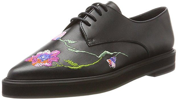 Paul & Joe Ladies Ggracy Derbys, Schwarz (Noir / Schwarz), 38 EU Womens Shoes – Schuhe Damen Frühling Sommer
