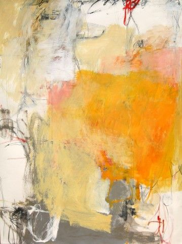 Charlotte Foust Marmalade mixed media on paper