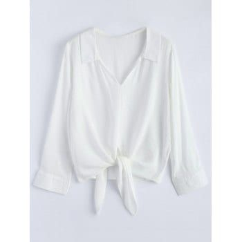Tied Loose Blouse