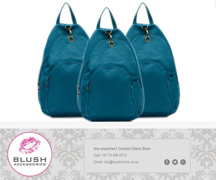 Do you travel light, but in style? Then you absolutely have to get your hands on one of these adorable backpacks available at #Blush\P#backpacks #style #fashion