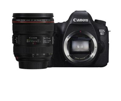 Canon EOS 6D Wifi Lens 24-70mm Kamera DSLR   specification