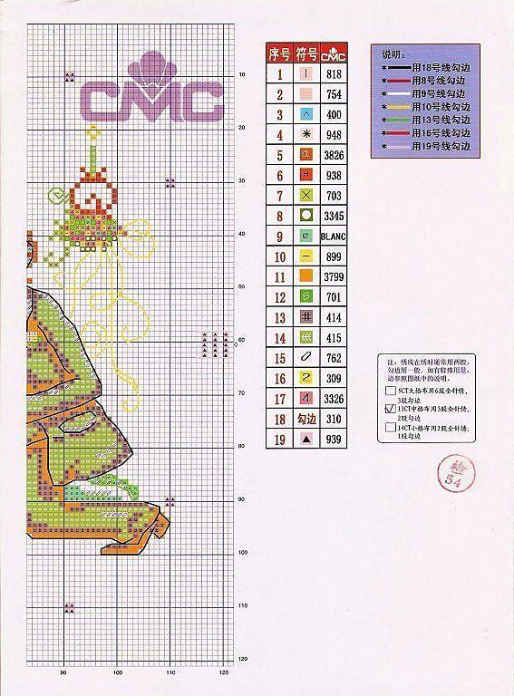 GRAFICOS SODA COREA ,,, SUPER LINDOS (pág. 20) | Aprender manualidades es facilisimo.com