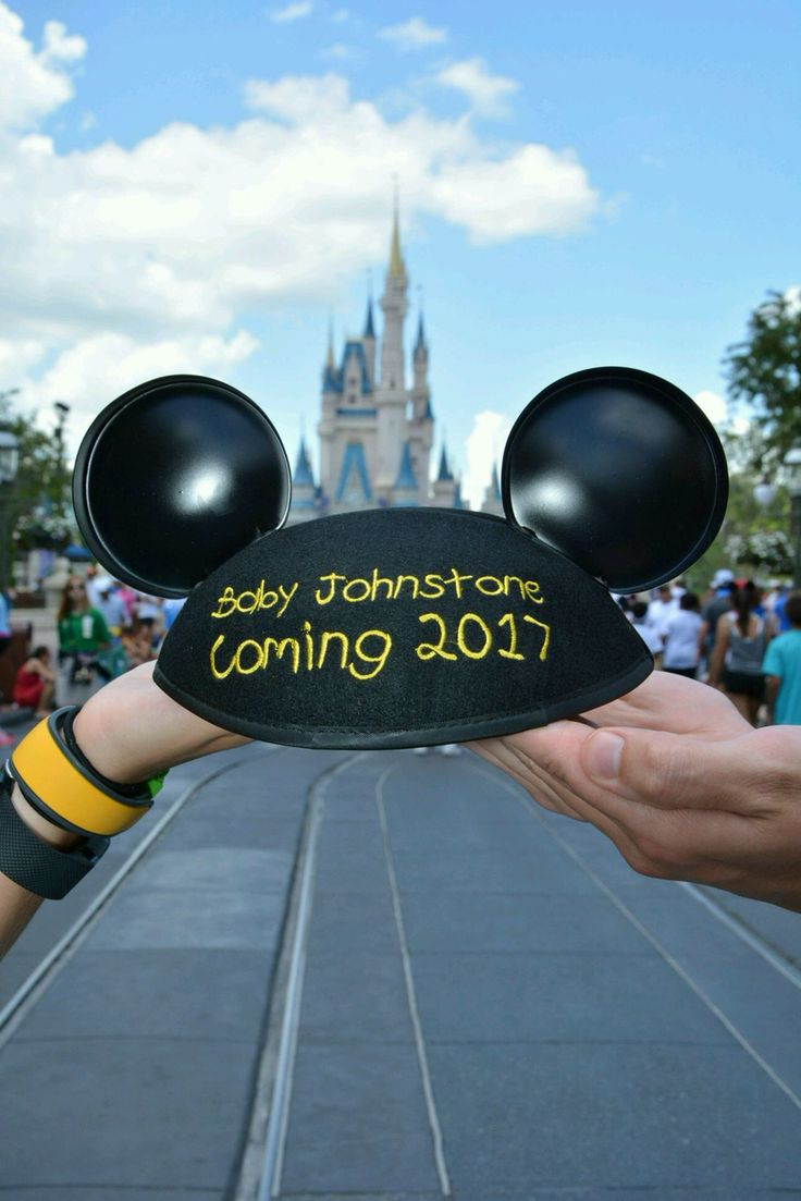 Disney pregnancy announcement! Turned out perfect!!!