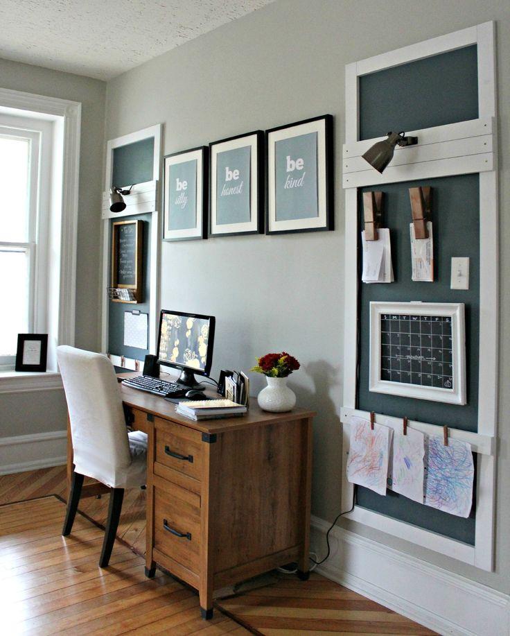 20 Farmhouse Home Office Design Ideas: 17 Best Ideas About Farmhouse Office On Pinterest