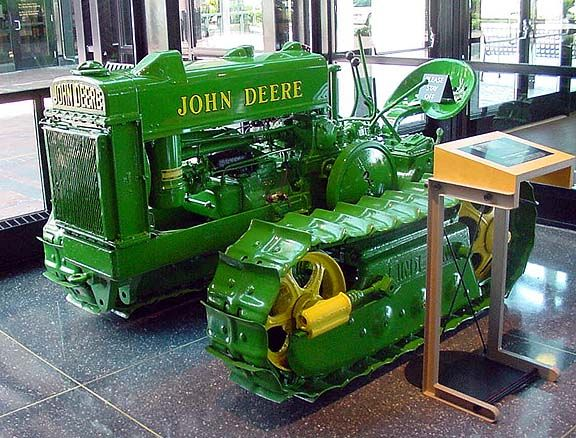 E B Af Ce Fabc Df B Vintage Tractors John Deere