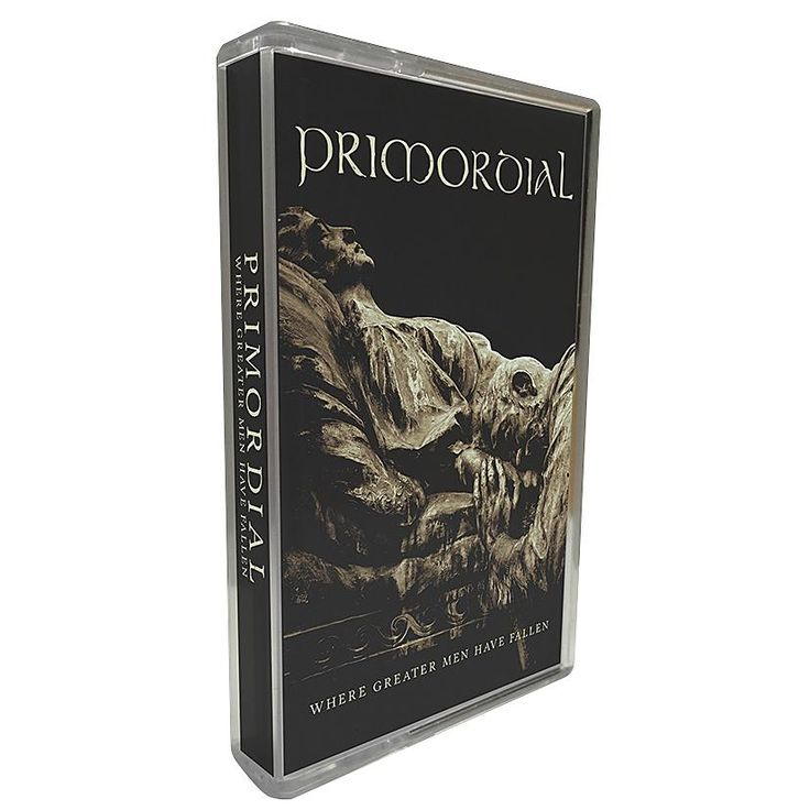 "L'album dei #Primordial intitolato ""Where Greater Men Have Fallen"" su musicassetta in edizione limitata a sole 250 copie."