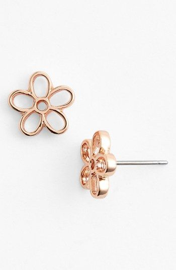 Free shipping and returns on MARC BY MARC JACOBS Daisy Stud Earrings at Nordstrom.com. Shiny metal is fashioned into cutout daisies in playful stud earrings.
