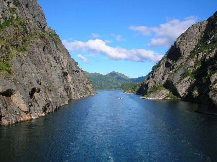 Hurtigruten-Fahrt in Kabelvag
