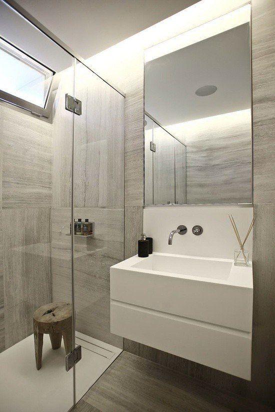 Nowoczesna łazienka Z Prysznicem Inspiracje Wnętrz