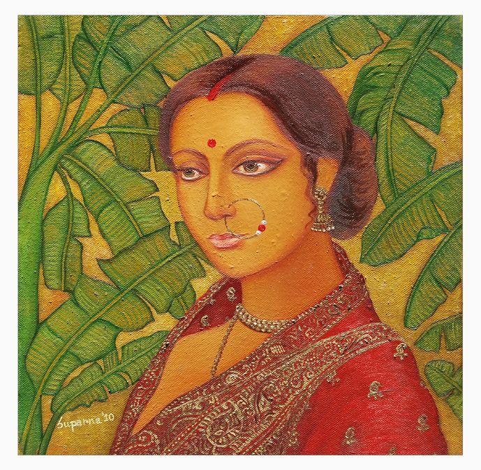 bengali ladies art - Google Search