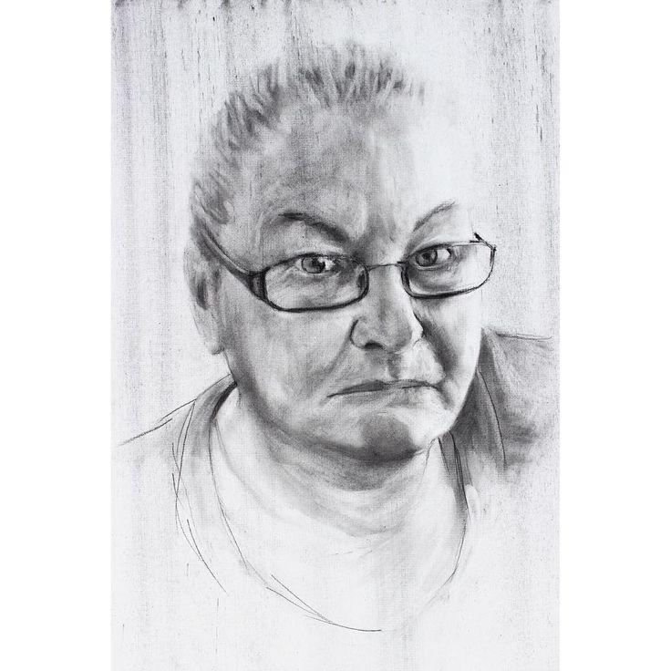 David Fooks - Q&S 57. Beverley Charcoal Portrait