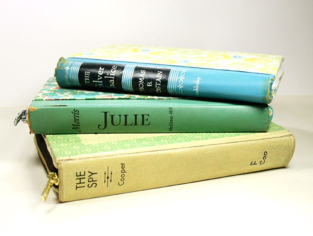 Vintage Book Tablet Case {Video Tutorial} by Julie at Stamped in His image