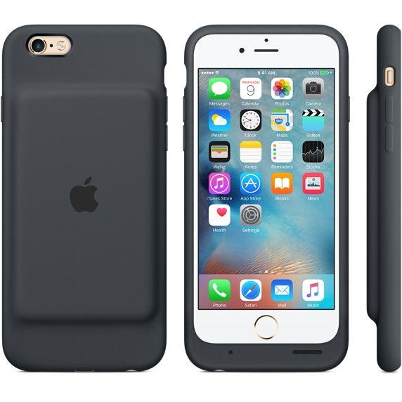 iPhone 6s スマートバッテリーケースであなたのiPhone 6sを充電・保護しましょう。チャコールグレイとホワイトの中から選べます。Apple オンラインで購入すると、送料無料です。