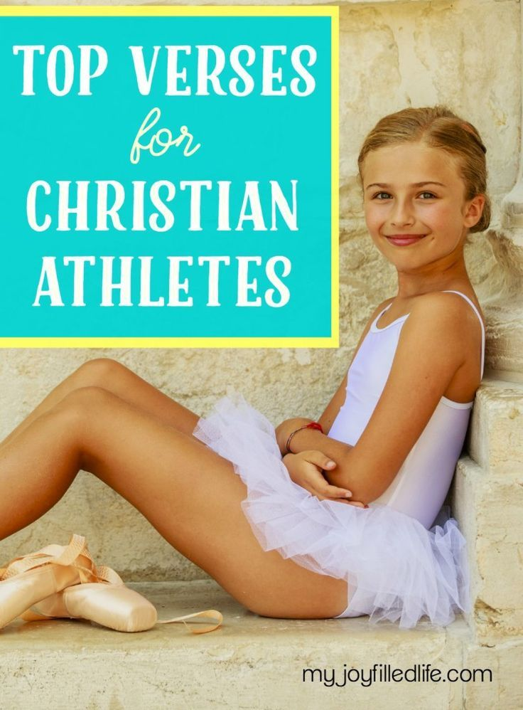 Top Verses for Christian Athletes