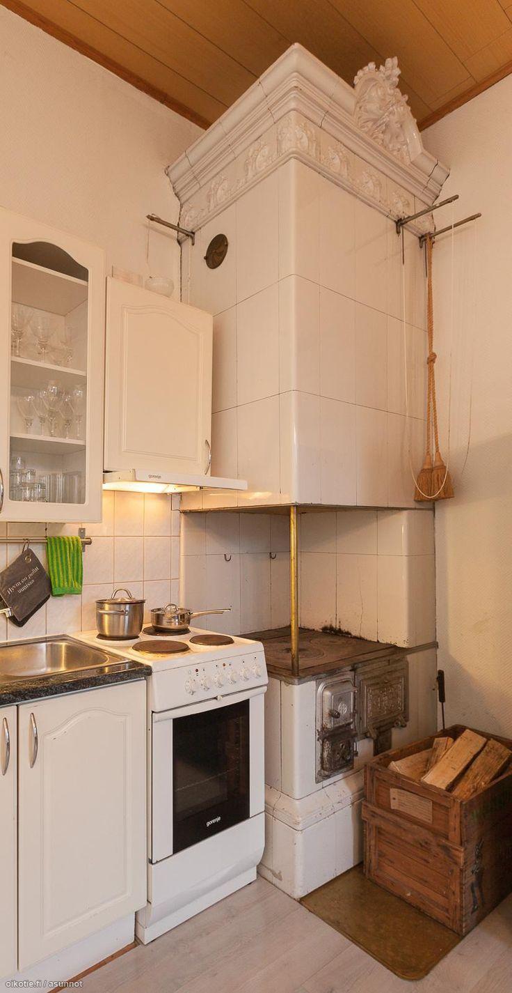 Myytävät asunnot, Koulukatu 18 as, Turku #oikotieasunnot #keittiö  Kitchens