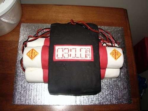 Covert Bomb Cake