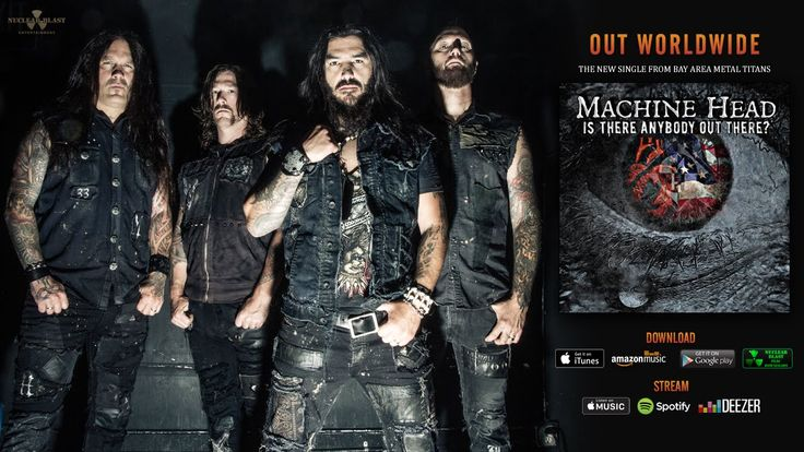 MACHINE HEAD - Is There Anybody Out There? (OFFICIAL TRACK) - YouTube