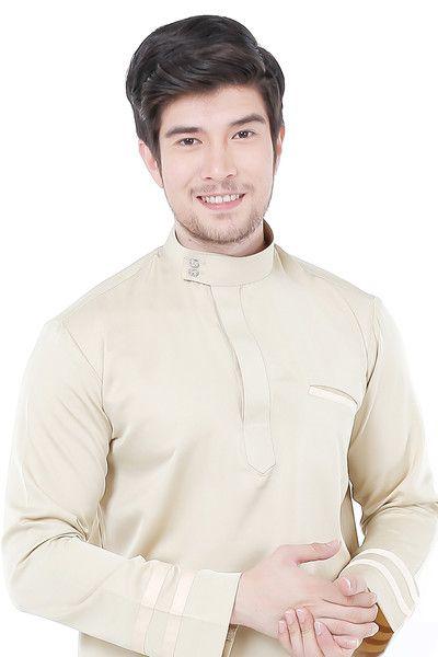 Baju Melayu in Creme Brulee