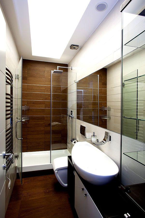 Kleine Badezimmer können ebenfalls modern und gut aussehen