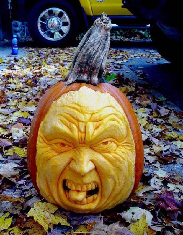 Best PUNKIN CARVING Images On Pinterest Beverage Chris D - Mind blowing pumpkin carvings by ray villafane 2