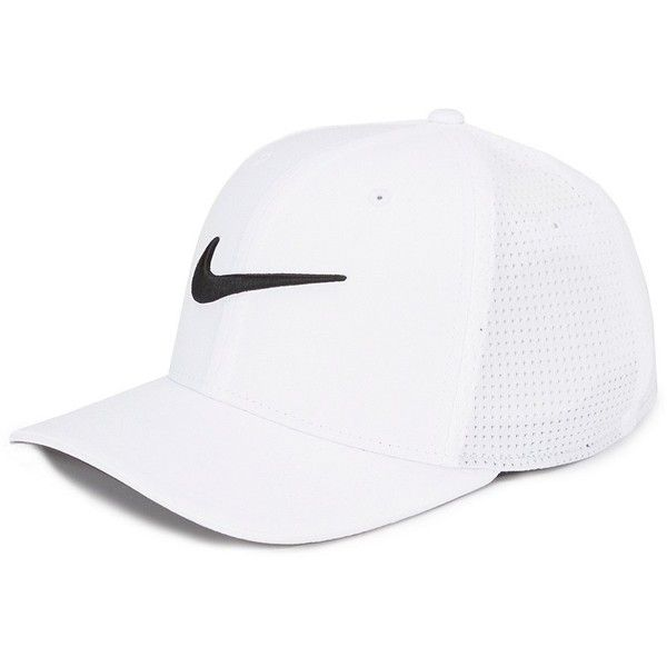 Nike Golf Classic 99 Dri-FIT Mesh Cap ($28) ❤ liked on Polyvore featuring accessories, hats, nike, cap hats, nike hat and nike cap