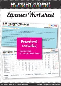 FREE Expenses Worksheet for Therapist