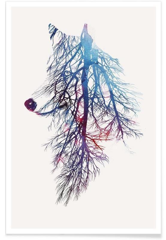 My Roots als Premium Poster