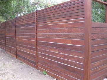 massaranduba Ipe Garapa decking and siding - modern - fencing - austin - Benjamin Baker