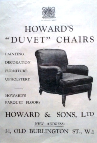 Howard and Sons Advert