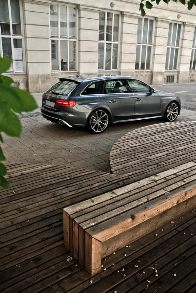 "RS4...if you HAVE to drive a ""station wagon"""