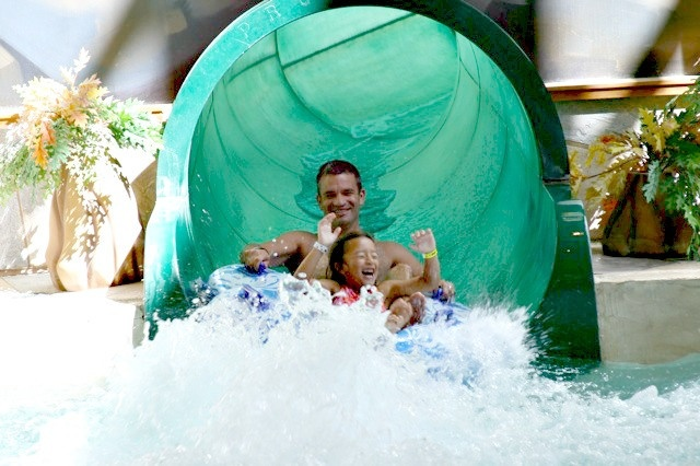 """If you live in the Seattle area (or any area that is near one of the 11 Great Wolf Lodge locations) and have kids who are old enough to play the """"my vacation is better than your vacation"""" game, a…"""