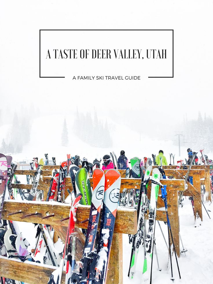 A Taste of Deer Valley, Utah: A Family Ski Travel Guide Kitchen Confidante