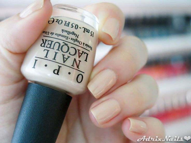Colores: OPI - Samoan Sand -