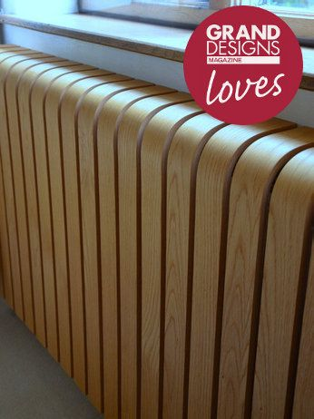 Amazing radiator covers, this one in oak! Love it. www.coolradiatorscovered.com