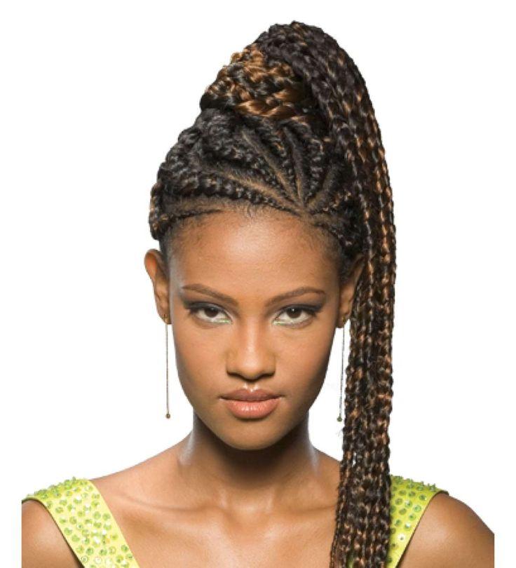 Hair Ponytail Model 20141200 Braided ponytail, Goddess