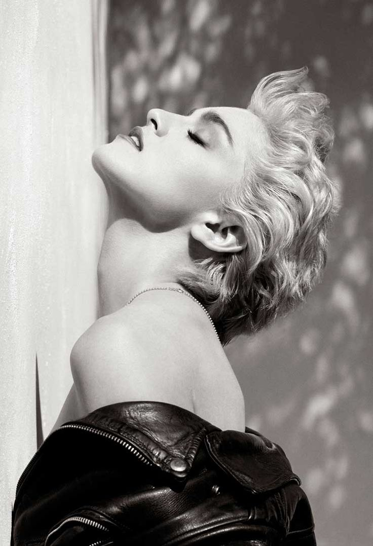 Herb Ritts - Madonna (Profilo True Blue), Hollywood 1986