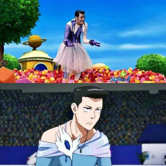 Dear gods what even is this... #lazytown #yurionice